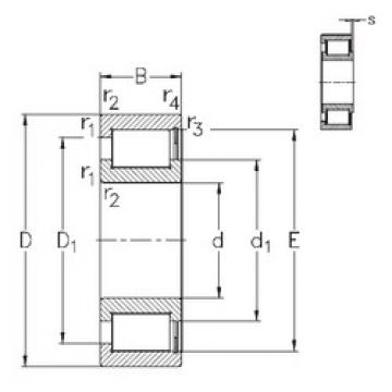 roulements NCF18/630-V NKE